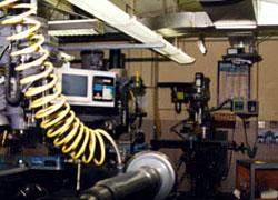 inside the machine shop