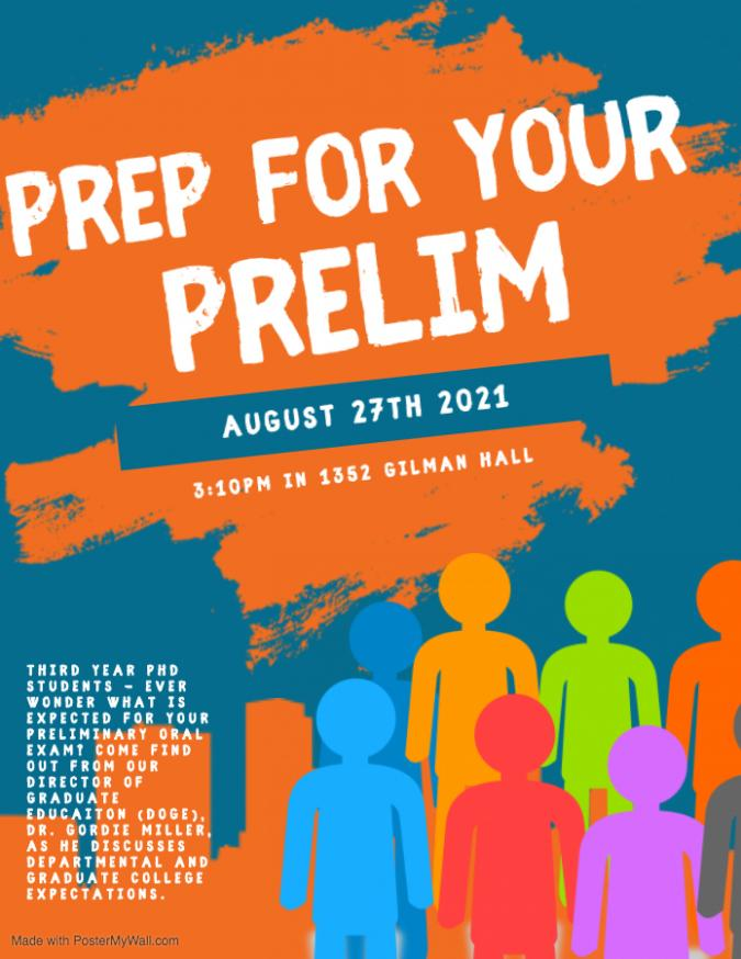 Prep for Prelim