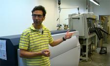 Sadow in Hach Hall lab