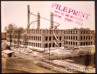 Construction of new Chemistry Hall